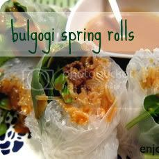 bulgogi spring rolls by weiya @ enjoyer of grace