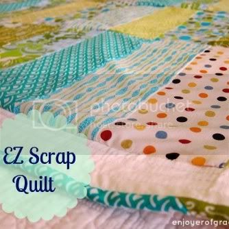 ez scrap quilt by weiya @ enjoyer of grace