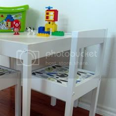 LATT Children's Table Makeover