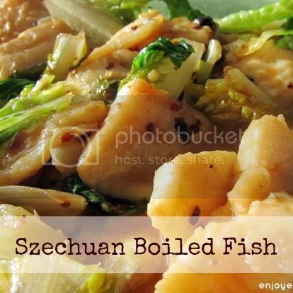Szechuan Boiled Fish by weiya @ enjoyer of grace