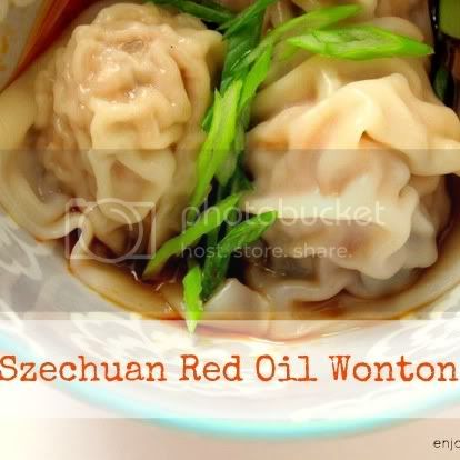 Szechuan Red Oil Wonton by weiya @ enjoyer of grace