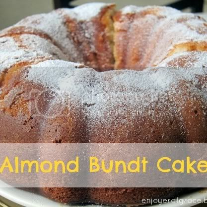 almond bundt cake by weiya @ enjoyer of grace