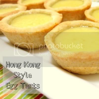 hong kong style egg tart by weiya @ enjoyer of grace