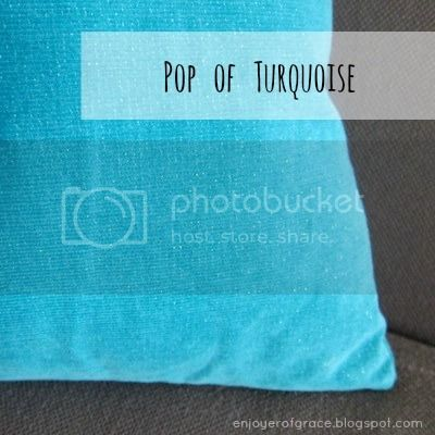 pop of turquoise @ enjoyerofgrace.blogspot.com