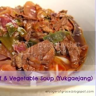 korean beef &amp; vegetable soup by weiya @ enjoyer of grace